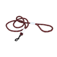 K9 Explorer Braided Rope Snap Leash Berry 6