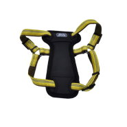 "K9 Explorer Reflective Adj Padded Harness 5/8x12-18"" Golden"