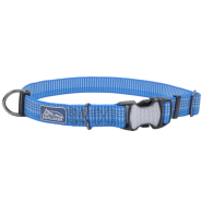 K9 Explorer Woven Adjustable Collar Lake 5/8x8-12""