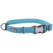 K9 Explorer Woven Adjustable Collar Ocean 5/8x8-12""