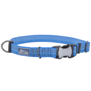 K9 Explorer Woven Adjustable Collar Lake 5/8x10-14""