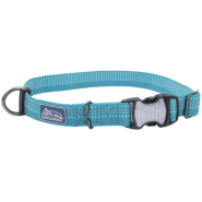 K9 Explorer Woven Adjustable Collar Ocean 5/8x10-14""