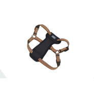 "K9 Explorer Reflective Adj Padded Harness 1x20-30"" Orange"