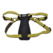 "K9 Explorer Reflective Adj Padded Harness 1x26-38"" Goldenrod"
