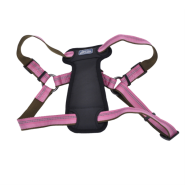 "K9 Explorer Reflective Adj Padded Harness 1x26-38"" Rosebud"
