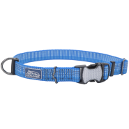 K9 Explorer Woven Adjustable Collar Lake 1x12-18""