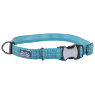 K9 Explorer Woven Adjustable Collar Ocean 1x12-18""