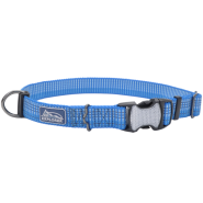 K9 Explorer Woven Adjustable Collar Lake 1x18-26""
