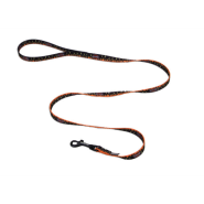 "HD Nyl Leash 5/8""x4"" Logo with Flames"