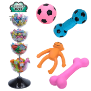 Rascals Latex Acrylic Bowl Toy Display 2