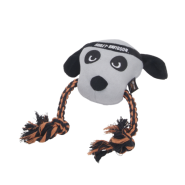 "Harley-Davidson 12"" Plush Dog Rope Tug"