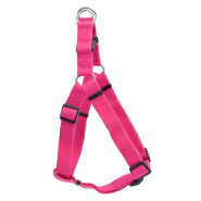"New Earth Soy Comfort Wrap Adj Harness 1""x26-38"" Fuchsia"