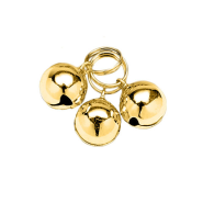 Pet Bells Gold Round