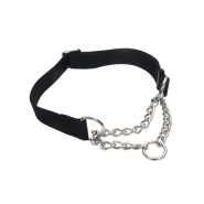 "Adj Check Training Collar 1"" Black 17""-24"""