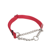 "Adj Check Training Collar 1"" Red 17""-24"""