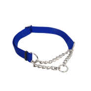 "Adj Check Training Collar 1"" Blue 17""-24"""