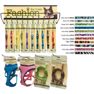 SafeCat Fashion w/Harness/Leash see manual for colors