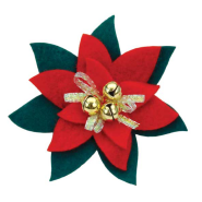 Celebration Collar Accessories Poinsetta 1 pk