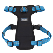 "K9 Explorer Brights Reflct Front Harness 5/8x12-18"" Lake"