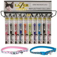 Lazer Brite Cat Collar Display