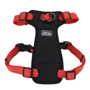 "K9 Explorer Brights Reflct Front Harness 1x20-30"" Canyon"
