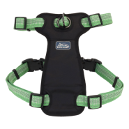 "K9 Explorer Brights Reflct Front Harness 1x20-30"" Meadow"