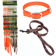 Remington Fashion & Reflective Collar & Leash Display