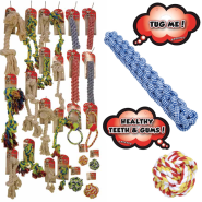 RASCALS ALL-INCLUSIVE ROPE TOY DISPLAY