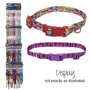 Styles Collar and 6 Leash Display (choose 6 patterns)