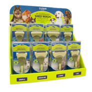 Safari Dog and Cat Shed Magic Display