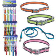Pet Attire Pro Collar and Leash Display
