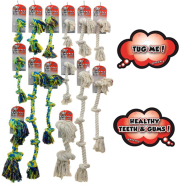 Rascals Basic Rope Toy Display