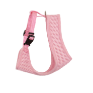 "ComfortSoft Wrap Adj Cat Mesh Harness 3/8x14-16"" Bright Pink"