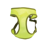 "Comfort Soft Wrap Adj Harness 3/8x14-16"" Lime XXSmall"