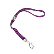 "Pet Attire Adj Grooming Loop Camlock 5/8x18"" Purple Animal"