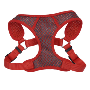 "Comfort Soft Sport Wrap Adj Harness 5/8x16-18"" Grey/Red"