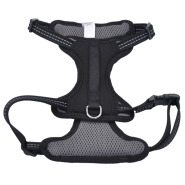 "Reflective Control Handle Harness 20-30"" Black Medium"