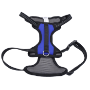 "Reflective Control Handle Harness 20-30"" Blue Medium"