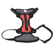 "Reflective Control Handle Harness 20-30"" Red Medium"
