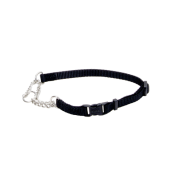 "Adj Check Training Collar w/Buckle 3/8"" Black 15"""