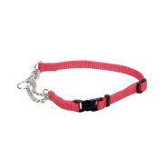 "Adj Check Training Collar w/Buckle 3/8"" Red 15"""