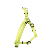 "Comfort Wrap Adj Nyl Harness 3/4x20-30"" Lime"