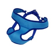 "Comfort Soft Wrap Adj Harness 5/8x19-23"" Blue Small"