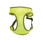 "Comfort Soft Wrap Adj Harness 5/8x19-23"" Lime Small"