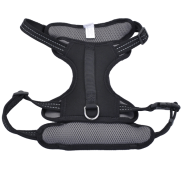 "Reflective Control Handle Harness 26-38"" Black Large"