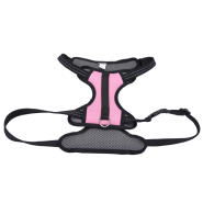 "Reflective Control Handle Harness 26-38"" Pink Large"