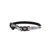 Safe Cat Glow in the Dark Adj. Collar Galaxy 8-12""
