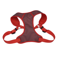 "Comfort Soft Sport Wrap Adj Harness 1x28-36"" Grey/Red"