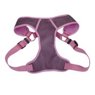 "Comfort Soft Sport Wrap Adj Harness 1x28-36"" Grey/Pink"