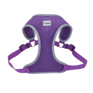 Comfort Soft Mesh Reflective Harness Purple Large